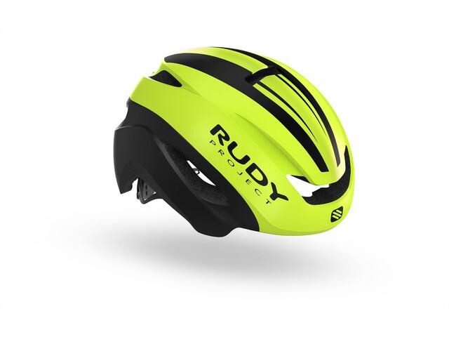 Rudy Project Volantis Kask rowerowy żółty/czarny
